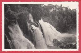 CPSM- OUBANGUI ( A.E.F)- Ann.50 -Les Chutes De La M'Bouali * Ed. R.Pauleau N°290 *Scan Recto/Verso - Centraal-Afrikaanse Republiek