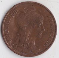 10  Centimes 1908 - D. 10 Centesimi