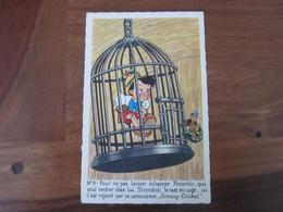 Carte Postale Waly Disney, Pinocchio, N°9 - Non Classificati