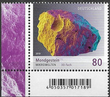 2019 . Deutschland Germany Mi. 3478**MNH EUL  Mondgestein (30-fache Vergrößerung) - Unused Stamps