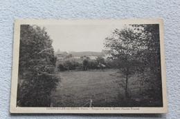 Cpa 1946, Courcelles Sur Seine, Perspective Sur Le Manet, Eure 27 - Altri Comuni