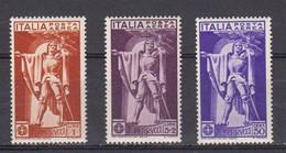 Italie 1930 Poste Aerienne Yvert 18 /20 * Neuf Avec Charniere.eme Centenaire De La Mort De Francesco Ferrucci - Airmail