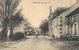 H0205 - MOROGUES - D18 - La Grande Rue - Other Municipalities