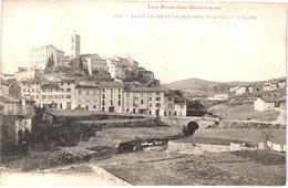 FR66 SAINT LAURENT DE CERDANS - Labouche 259 - L'église - Belle - Other Municipalities
