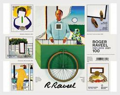 Belgien Belgium MNH ** 2021  Roger Raveel 100 - Neufs
