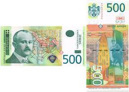SERBIA 500 DINARA 2007 P 51 - UNC - Serbie