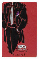 Cadillac Jack's Casino, Deadwood, SD, U.S.A. Older Used  BLANK Slot Or Player's Card, # Cadillacjacks-5blank - Casino Cards
