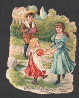 CHROMO CHOCOLAT POULAIN ENFANTS ACCORDEON  C2567 - Poulain