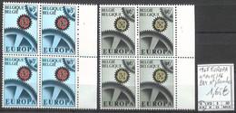 D - [858604]TB//**/Mnh-Belgique 1967 - N° 1415/16, Bd4, N° Planches, Europa-Cept - 1961-1970