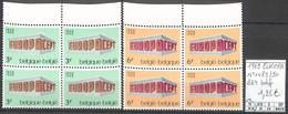 D - [858607]TB//**/Mnh-Belgique 1969 - N° 1489/90, Bd4, Bdf, Europa-Cept - Ongebruikt