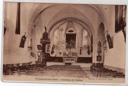 CPA 12 : VILLENEUVE-sur-TARN - Intérieur De L'Eglise - Ed. Aillaud à Albi - - Altri Comuni