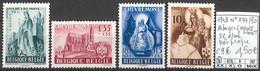D - [858753]TB//*/Mh-c:9e-Belgique 1948 - N° 773/80, Abbayes CHEVREMONT, Série Complète, */mh Très Propre, Religions & C - Unused Stamps