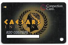 Caesars Palace Casino, Indiana, Older Used Slot Or Player's Card, # Caesars-2 - Casino Cards