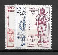 AEF  - N°87/89 - Neuf** - SUP - Unused Stamps