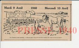 Humour Chevalin Sport Vintage Course à Pied Jument Poulain Pré Cheval Maltraitance Coups De Fouet Métier Avocat 198PF52 - Ohne Zuordnung