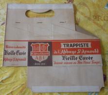 ANCIEN PACK En CARTON Pour Mettre  6 BOUTEILLES De LA TRAPPISTE  De L' ABBAYE SAINT ARNOULD  à JEMAPPES - MONS - Beer