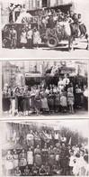 Confolens, Cavalcade Années 50 ?, Lot De 5 Photos Format CP - Confolens
