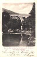 FR66 SAINT LAURENT DE CERDANS - Brun - Précurseur - Pont Du Pas Du Loup Sur Le Tech - Route De SAINT LAURENT - Belle - Other Municipalities