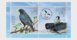 Estonia Estland  MNH ** 2021  100th Anniversary Of The Estonian Ornithological Society - Estland