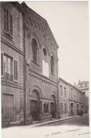 30 NIMES **Synagogue** Religion, Judaïsme (vue Peu Courante, Légende Imprimer De Biais) - Nîmes