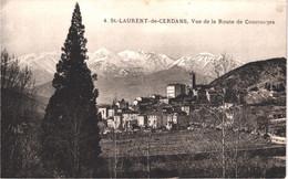FR66 SAINT LAURENT DE CERDANS - 4 - Vue De La Route De COUSTOUGES - Belle - Other Municipalities