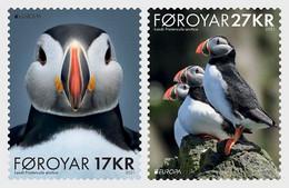 Faroer Färöer MNH ** 2021  Europa 2021 - Endangered National Wildlife Set M - 2020