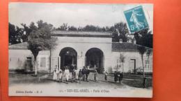 CPA. Sidi Bel Abbés. Porte D'Oran.    (R1.218) - Sidi-bel-Abbes