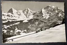 Bergbahn Grütsch-Mürren/ Photo Gyger Adelboden - BE Berne
