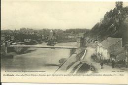 08 Ardennes  CHARLEVILLE Mont Olympe Ancien Pont A Péage Quartier Du Sépulcre Occupation Allemande 1871 ,72 Animée - Charleville
