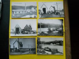 Photo Tramway ,FINISTERE ,collection Bourneuf ,lire Descriptif ,CFF ,6 Gares Le Conquet - Treni