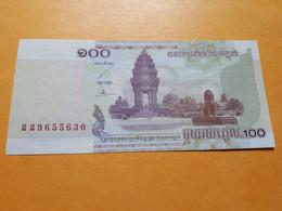 CAMBODGE 100 RIELS 2001 BILLET NEUF - Cambodia