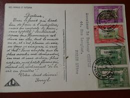 WALLIS ET FUTUNA - Carte Publicitaire 1949 - Covers & Documents