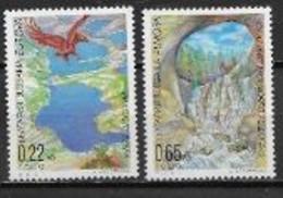 Bulgarie 2001 N° 3898/3899 Neufs Europa L'eau - 2001