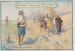 Chromo Poulain - Le Convoi En Marche - Poulain