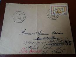 WALLIS ET FUTUNA - Lettre 1966 15e Déclaration Universelle Des Droits De L'homme 1963 Mata Utu 29f - Covers & Documents