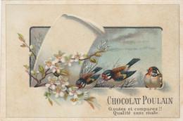 Chromo Poulain - Oiseaux Fleurs - Poulain
