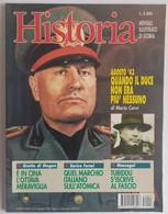 HISTORIA  ILLUSTRATA -   N. 8 DEL AGOSTO 1995   ( CART 77B) - Storia