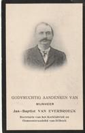 Dilbeek, Brussel, 1914, Jan Van Everbroeck, Van Malderen - Images Religieuses
