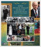 Isle Of Man MNH ** 2021  HRH Prince Philip The Duke Of Edinburgh - Isla De Man