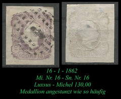 Mi. Nr. 16 - Sn Nr. 16 - Luxsus - Used Stamps
