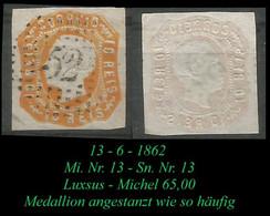 Mi. Nr. 13 - Sn Nr. 13 - Luxsus - Used Stamps