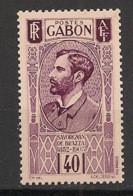 Gabon - 1932 - N°Yv. 134 - Savorgnan 40c - Neuf Luxe ** / MNH / Postfrisch - Unused Stamps