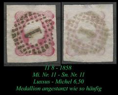 Mi. Nr. 11 - Sn Nr. 11 - Luxsus - Used Stamps