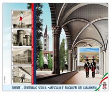 2020 - ITALIA REPUBBLICA - FOGLIETTO -  SCUOLA BRIGADIERI E MARESCIALLI DEI CARABINIERI - VALORE EURO  1,10  -    NUOVO - 2011-...: Mint/hinged