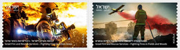 Israel MNH ** 2021  ATM Firefighting & Rescue Extinguishing Fires In An Urban Area - Ungebraucht (ohne Tabs)