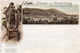 DC546 - Schöne Ak Gruss Aus Heidelberg Litho - Heidelberg