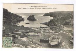 GROIX  LE PORT SAINT NICOLAS LE ROCHER DE LA VACHE - Groix