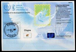 CHYPRE  Coupon Réponse International / International Reply Coupon - Cartas