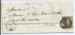 Brief Met  OCB 6 - Afstempeling Van Heist-op-den-Berg (onleesbaar) En Postbusletter Y (= Booischot) - 1849-1865 Medaillen (Sonstige)