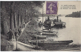44  Suce  Sur Erdre  -  Pres De Nantes  -  La Chaussee  Et L'erdre - Les Bateaux De Nantes - Otros Municipios
